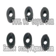 WL V944-parts-34 Rotor hub rubber swashers(6pcs) wholesale Wltoys V944 model WL toys 944 rc helicopter parts V944 parts list