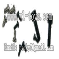 WL V944-parts-35 Screws (M2x8,M1x3,M1.4x3,ST1.2x5PA wholesale Wltoys V944 model WL toys 944 rc helicopter parts V944 parts list