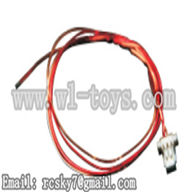 WL V944-parts-36 Wire with plug wholesale Wltoys V944 model WL toys 944 rc helicopter parts V944 parts list