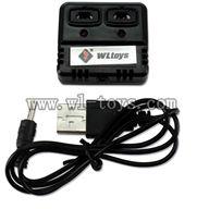 V252-parts-13 Balance charger & Usb Charge wire wholesale Wltoys WL V252 Quadcopter parts,V-252 WL toys V252 parts
