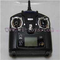 V252-parts-14 Transmitter Remote control wholesale Wltoys WL V252 Quadcopter parts,V-252 WL toys V252 parts