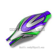 V262-parts-01 Head cover(Green&Purple&Gray) wholesale Wltoys WL V262 Quadcopter parts,V-262 WL toys V262 parts