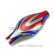 V262-parts-02 Head cover (Red&Blue& Gray) wholesale Wltoys WL V262 Quadcopter parts,V-262 WL toys V262 parts