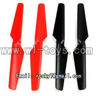 V262-parts-03 Main blades(4pcs) wholesale Wltoys WL V262 Quadcopter parts,V-262 WL toys V262 parts