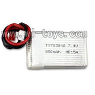V262-parts-04 7.4v 850mah Battery wholesale Wltoys WL V262 Quadcopter parts,V-262 WL toys V262 parts