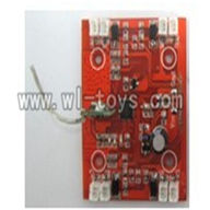 V262-parts-06 Circuit board,Receiver board wholesale Wltoys WL V262 Quadcopter parts,V-262 WL toys V262 parts