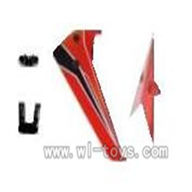 WL V319 helicopter parts-03-Tail decoration Wltoys WL V319 model WL toys V319 rc helicopter V319 parts list