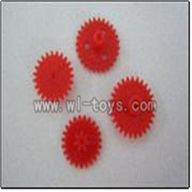 WL V319 helicopter parts-10-Gear Wltoys WL V319 model WL toys V319 rc helicopter V319 parts list