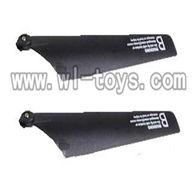 WL V398 model parts-05-Main Blade(2B) Wltoys WL V398 model wl toys v398 rc helicopter and v398 parts list
