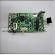 WL V398 helicopter parts-21-PCB box,PCB board,Receiver board Wltoys WL V398 model wl toys v398 rc helicopter and v398 parts list