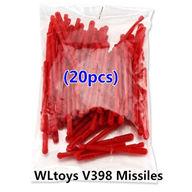 20PCS Missiles For V398 Helicopter Wltoys WL V398 model wl toys v398 rc helicopter and v398 parts list