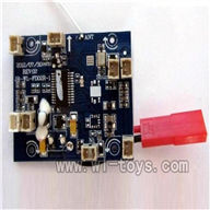 WLtoys-v989-18 Circuit board,Receiver board WL V989 model wl toys V989 rc helicopter and V989 parts list Quadcopter