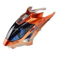 WLtoys S929 helicopter parts-04-Head Cover(orange) WLtoys S929 helicopter WL toys S929 rc helicopter and WLtoys S929 parts list