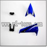 WLtoys S929 helicopter parts-06-Tail decoration WLtoys S929 helicopter WL toys S929 rc helicopter and WLtoys S929 parts list