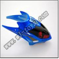 WL S939 helicopter parts-01-Head Cover(blue) WLtoys S939 RC helicopter WL toys S939 model WLtoysrc S939 parts