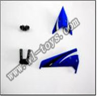 WL S939 helicopter parts-06-Tail decoration WLtoys S939 RC helicopter WL toys S939 model WLtoysrc S939 parts
