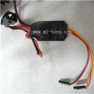 MJX-F649-parts-32 Over-Current detection unit,MJX F49 F649 rc helicopter and mjxrc toys helikopter Accessories