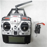 MJX-F649-parts Transmitter & Circuit board,MJX F49 F649 rc helicopter and mjxrc toys helikopter Accessories