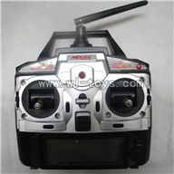MJX-F649-parts-34 Transmitter,MJX F49 F649 rc helicopter and mjxrc toys helikopter Accessories