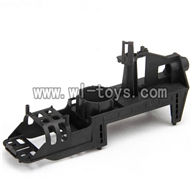MJX-F649-parts Main body frame,MJX F49 F649 rc helicopter and mjxrc toys helikopter Accessories