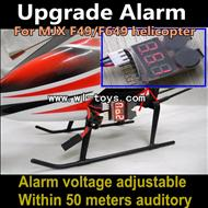 MJX F49 F649 Lower voltage alarm-50 meters auditory mjx F45 F645 RC helicopter Parts