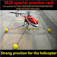 MJX F49 F649 practice Rack Strong protection,mjx F45 F645 RC helicopter Parts,mjxrc toys helikopter Accessories