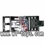 MJX F45 -23 Base plate Chassis,Mjx F45 F645 RC helicopter Parts,mjxrc toys MJX F645 helikopter Accessories