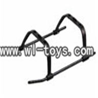 MJX F45 -24 Undercarriage Landing Gear,Mjx F45 F645 RC helicopter Parts,mjxrc toys MJX F645 helikopter Accessories