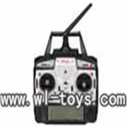 MJX F45 parts -35 2.4G Transmitter Remote controller,Mjx F45 F645 RC helicopter Parts,mjxrc toys MJX F645 helikopter Accessories