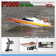 FeiLun FT009 rc Boat  FT009 high speed boat FT 009 Speedboat Model parts FT009 Remote control boat-Boat-all