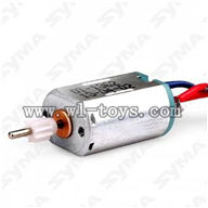 SYMA S36-Parts-18 Main motor B with short shaft (Lower Blade Motor) SYMA S36 rc helicopter parts SYMA S 36 helikopter Accessories symarc model