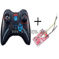 SYMA S36-Parts-23 Transmitter and circuit baord SYMA S36 rc helicopter parts SYMA S 36 helikopter Accessories symarc model