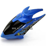 SYMA S107P-parts-01 Head cover(Blue) SYMA S107P rc helicopter parts SYMA S 36 helikopter Accessories symarc model