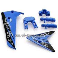S107P-parts-04 Decoration piece(Blue) SYMA S107P rc helicopter parts SYMA S 36 helikopter Accessories symarc model