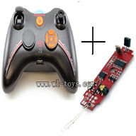 SYMA S107P-parts-09 Transmitter & Circuit baord SYMA S107P rc helicopter parts SYMA S 36 helikopter Accessories symarc model