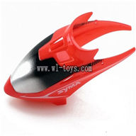 SYMA S5-Parts-01 Head Cover-Red SYMA S5 rc helicopter parts SYMA S5 helikopter Accessories symarc model