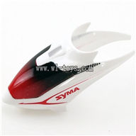 SYMA S5-Parts Head Cover-White SYMA S5 rc helicopter parts SYMA S5 helikopter Accessories symarc model