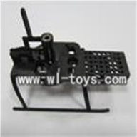SH 66050-parts-11 Landing skid & body frame SH6050 RC helicopter parts sanhuan 6050 helikopter Accessories,sanlianhuan 6050 toys