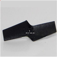 SH 6050-parts-20 Tail blade SH6050 RC helicopter parts sanhuan 6050 helikopter Accessories,sanlianhuan 6050 toys
