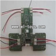 SH 6050-parts-35 Transmitter board SH6050 RC helicopter parts sanhuan 6050 helikopter Accessories,sanlianhuan 6050 toys