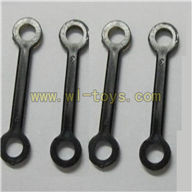 FX037-helicopter-parts-08 Long Connect buckle(4pcs) Feilun FX037 rc helicopter parts FX 037 helikopter Accessories