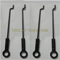 FX037-helicopter-parts-10 Steering gear lever(4PCS) Feilun FX037 rc helicopter parts FX 037 helikopter Accessories