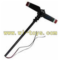 FX037-helicopter-parts-18 Whole tail unit(Include tail motor) feilun FX037 rc helicopter parts FX 037 helikopter Accessories