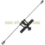 FX037-helicopter-parts-19 Balance bar with short connect buckle & Main grip set & Head of the inner shaft feilun FX037 rc helicopter parts FX 037 helikopter Accessories