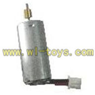 FX037-helicopter-parts-21 Main motor with shaft and gear feilun FX037 rc helicopter parts FX 037 helikopter Accessories