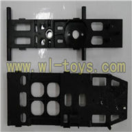 FX037-helicopter-parts-26 Upper Main frame & Lower main frame feilun FX037 rc helicopter parts FX 037 helikopter Accessories