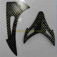 FX037-helicopter-parts-30 Horizontal wing and verticall wing frame feilun FX037 rc helicopter parts FX 037 helikopter Accessories