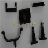 FX037-helicopter-parts-31 Nose & Tail tube fixed feilun FX037 rc helicopter parts FX 037 helikopter Accessories