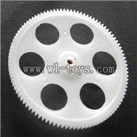 BR6608-parts-08 Lower main gear borong BR6608 RC Helicopter Parts BR 6608 toys model helikopter Accessories