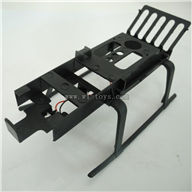 BR6608-parts-15 Lainding skid BORONG BR6608 RC Helicopter Parts BR 6608 toys model helikopter Accessories